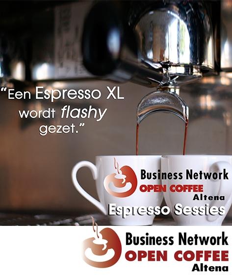 Open Coffee Altena 36.0 met Espresso XL: 'Zin en onzin van netwerken'